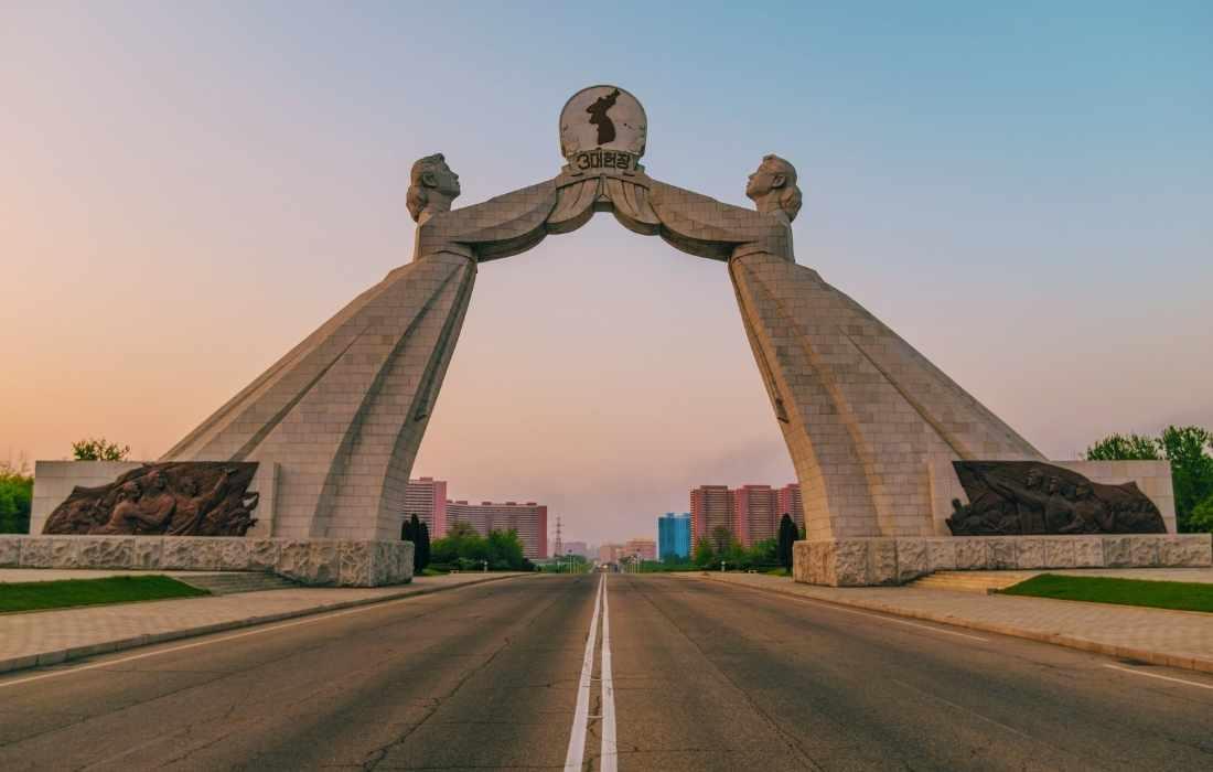 north korea reunification pyongyang